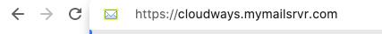 התחברות למייל דרך הממשק של קלאודוויז